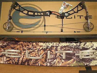 "ELITE SYNERGY Archery Hunting Bow 27½"" to 31"" Right Hand 60# to 70# Black Max-1"