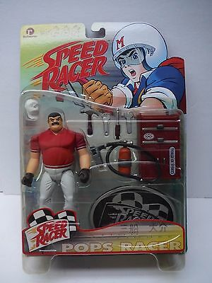 1999 Speed Racer Pops Racers Series 1 Action Figure unopened