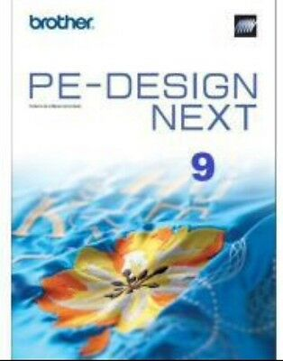 Brother Pe-Design Next 9 - Embroidery Software