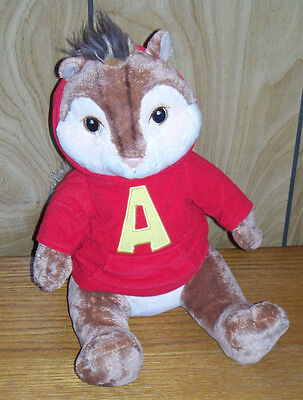 Build A Bear Series Collector Toy Alvin the Chipmunk Retired Plush Animal