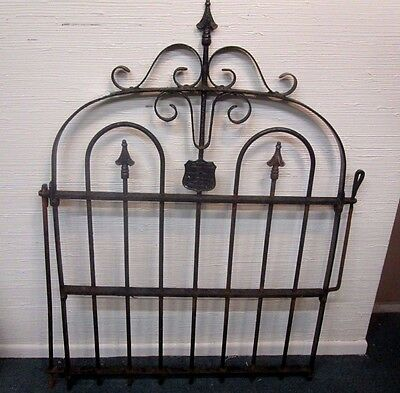 Architectural Antique Victorian Wrought Iron Garden Gate Compare My Price ! # 3