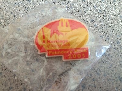 McDonalds Founders Day pin 2001