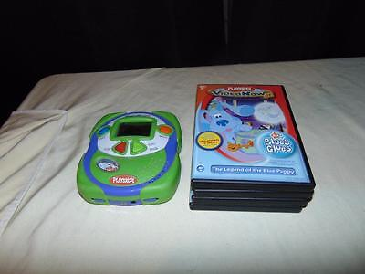 Playskool Video Now jr player w/5 videos blue clues Wiggles clifford max & ruby