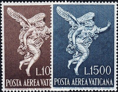 Vatican City 1962 Annunciation Airmail Set MUH