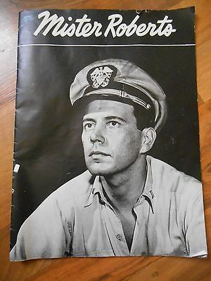 Old Vintage Mister Roberts Play Program Booklet Theater Souvenir Searchlight Tan