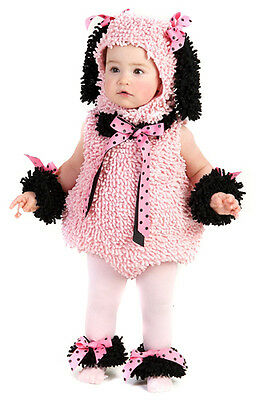 Baby Poodle Halloween Costume size Newborn 6-12M