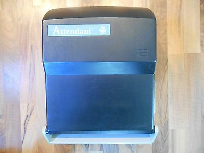 SCA Attendant Business Restroom Paper Towel Dispenser Battery Operated Automatic