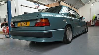 1992 MERCEDES w124 260E  AMG AUTO TURQUOISE -one owner - low mileage