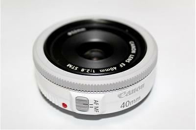 Canon EF 40mm F/2.8 STM White NEW - Bulk