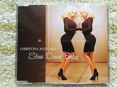 Christina Aguilera - Slow Down Baby (Australia CDS) Telepathy BRITNEY Super RARE