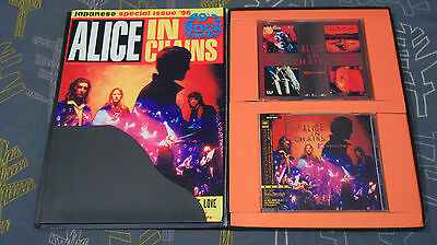 Alice in chains MTV Unplugged Japan Promo box 1996 *ULTRA RARE* FREE SHIPPING!!!