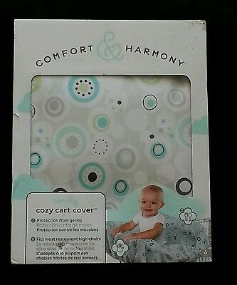 Comfort Harmony Simply Cozy Cart Cover Green Green Circles