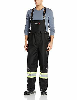 Viking Professional Journeyman 300D FR Waterproof Safety Detachable Bib Pants, 3