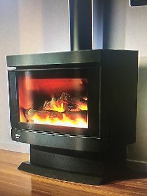 Cannon Canterbury Free Standing Log Fire- Natural Gas
