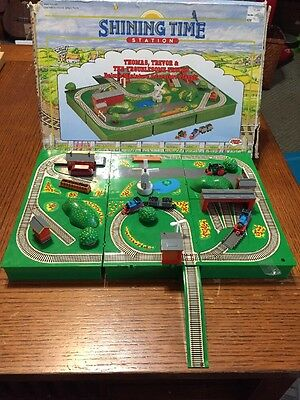 Shining Time Station Thomas Deluxe Miniature Adventure Playset PLUS RARE