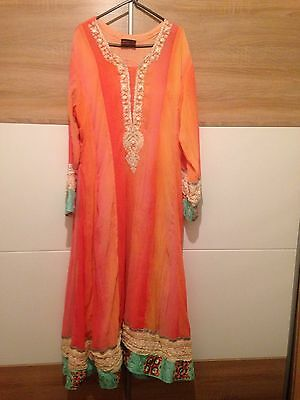 Women's Cheffon Embroidered Kurta