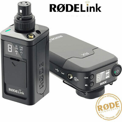Rode Rodelink Newsshooter Kit Digital Wireless Microphone Plug Pack and Camera R
