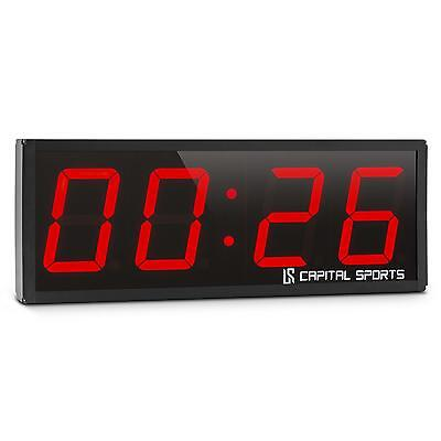 Panneau LED Affichage Sportif Capital Sports Timer 4 Fitness Intervalles Rounds