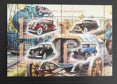 Stamps. Cars.  10 Sheets. Different Countries