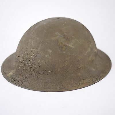 Authentic Antique WW1 WWI US American Doughboy Helmet M1917 M17 Original Soldier