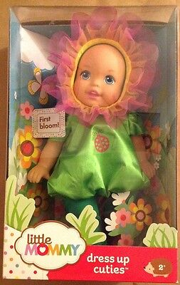 Fisher-Price Little Mommy First Bloom Doll Dress Me Up Cuties Age 2  NEW