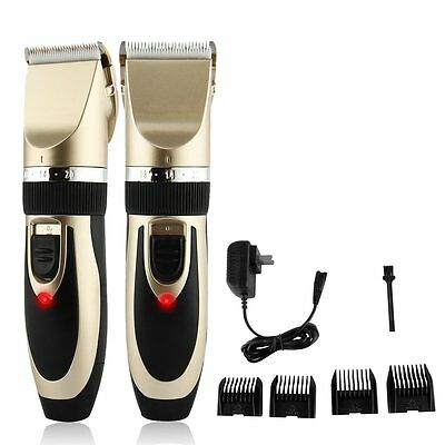 Rechargeable Pet Hair Grooming Set Animal Dog Cat Fur Clipper Trimmer Shaver Kit