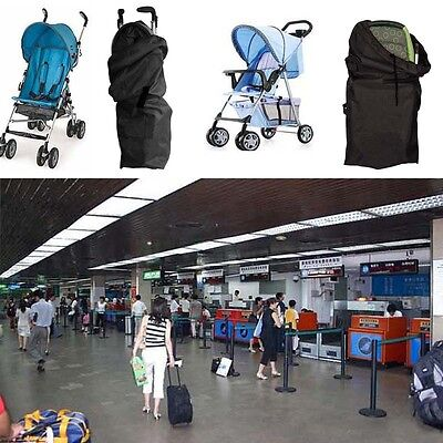 1 x Car Train Plane Gate Check Pram Travel Bag Umbrella Stroller Pushchair Cover