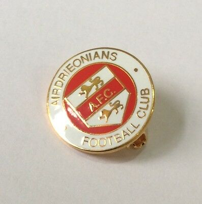 AIRDRIEONIANS Badge Football Club FC Pin 1 of 3 All Different. CHRISTMAS PRESENT