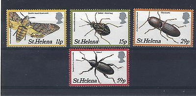 St Helena 1983 Insects 2nd Series SG411-414 MNH