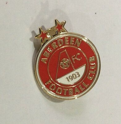 ABERDEEN Football Club FC Badge Enamel Supporters Pin. CHRISTMAS PRESENT GIFT.