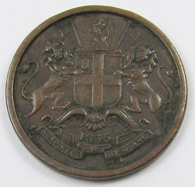 EAST INDIA COMPANY - 1/12 ANNA COIN dated 1835