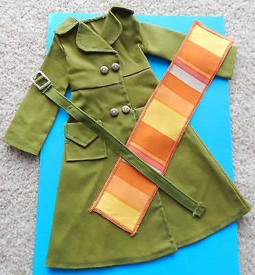 """Vintage Ideal Crissy Outfit  """"The Drenched Trench"""" - Doll Clothes"""