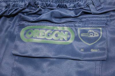 Oregon Protective Chainsaw Trousers Blue Type C - Size Large