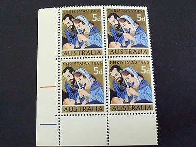 1965 5d Christmas Issue . Block of 4. MUH.