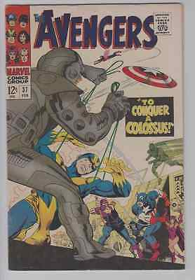 Avengers 37 Silver Age FN+