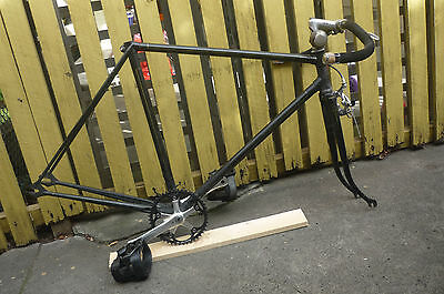 Fixed Gear Single speed frame 40s-50s? Phil Wood BB. Hand painted lines sturmy a