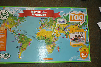 Leap Frog Interactive World Map. BRAND NEW
