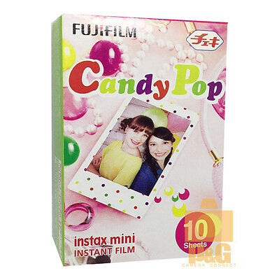 FUJIFILM FUJI INSTAX MINI Instant FILM 1 PACK / Candy Pop 4 8 sp2 25 90 50S SP-1