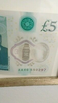 3 new five pound note