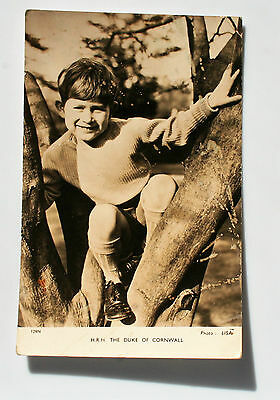 Postcard of The HRH The Duke of Cornwall (Prince Charles)