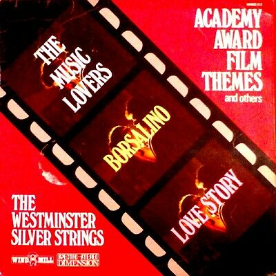 The Westminster Silver Strings ‎Academy Award & Great Film Themes Vinilo UK1972