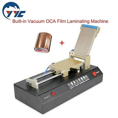 Built-in Vacuum OCA Film Laminating Machine for iPhone Samsung LCD Touch Screen