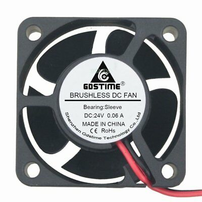 DC 24V 40mm 20mm Brushless PC Computer Cooler Cooling IDE Fan 40x40x20mm 2Pin