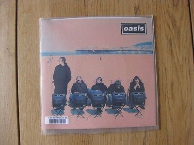 "OASIS ""Roll With It"" 7"" vinyl single CRE 212 1995 NEW in Plastic!"