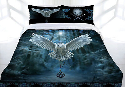 Anne Stokes Bedding Awake your Magic Double Quilt Cover With Free Canvas Print