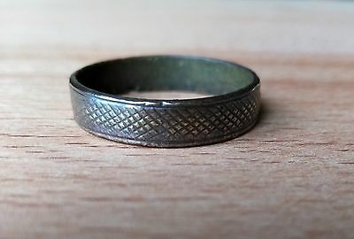 MEDIEVAL BRONZE RING.17th century