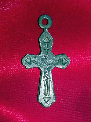 Late Middle Bronze Cross pendant- religious artifacts.