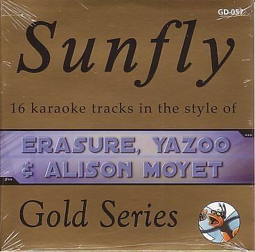 Sunfly Karaoke Gold Series Volume 57 Erasure Yazoo Alison Moyet CD+G New Sealed