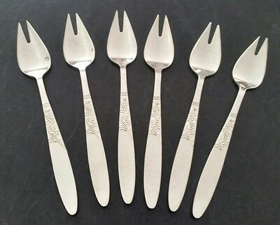 Grosvenor Christine Epns A1 Silver Plated Buffet Forks 6 Pieces