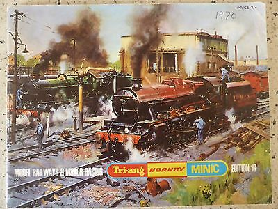 Triang Hornby Minic 1970 Ed16 Catalogue